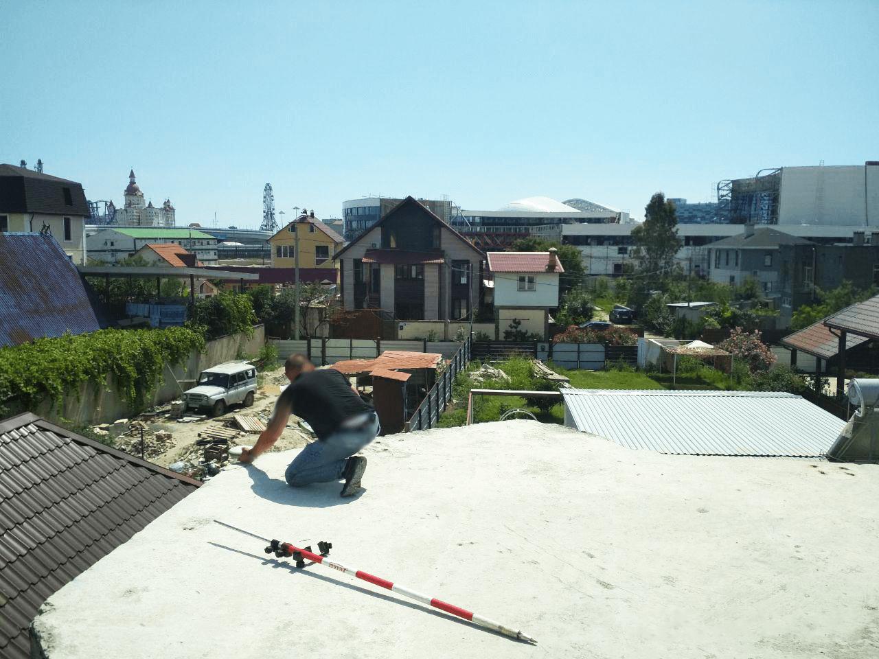 Геодезическая Съёмка углов сооружения