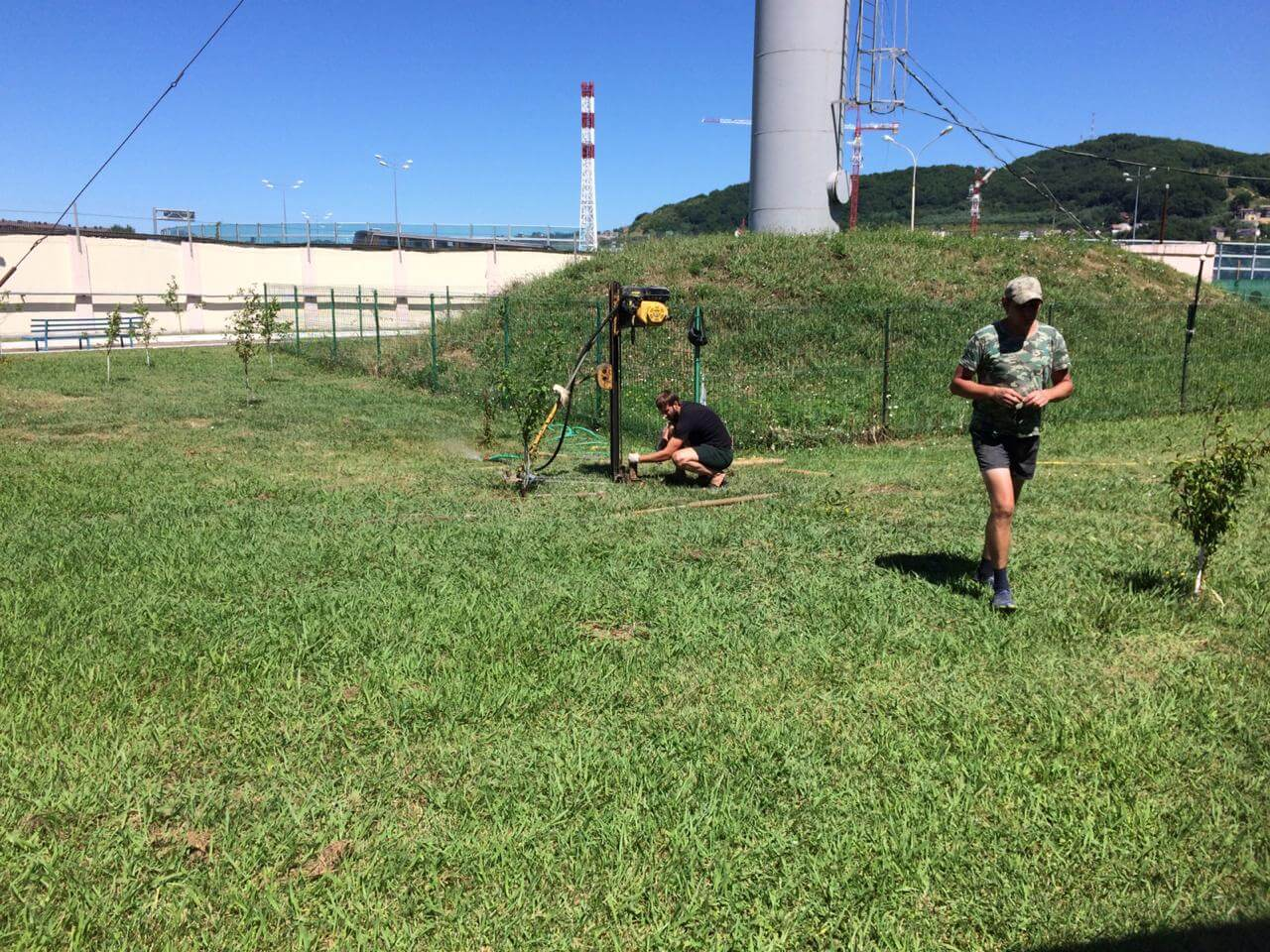 Инженерно - геологические изыскания на границе с Республикой Абхазия